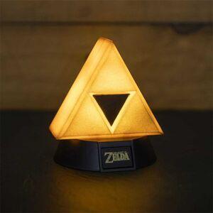 THE LEGEND OF ZELDA LAMPARA 3D ICON GOLD TRIFORCE 10 CM