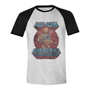 MASTERS OF THE UNIVERSE CAMISETA HE-MAN POSE L