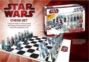STAR WARS AJEDREZ 3D
