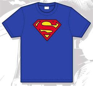 SUPERMAN CAMISETA HOMBRE LOGO GRANDE XL