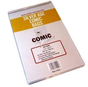 BOLSAS PARA COMICS COMIC CONCEPT SILVER AGE (100)