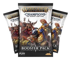 WARHAMMER AGE OF SIGMAN: CHAMPIONS WAVE 1 - EXPOSITOR 24 SOBRES EN INGLES