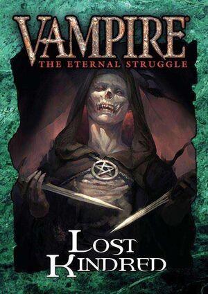 VAMPIRE THE ETERNAL STRUGGLE LOST KINDRED - INGLES