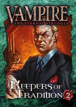 VAMPIRE THE ETERNAL STRUGGLE KEEPERS OF TRADITION 2 - INGLES
