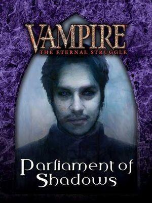 VAMPIRE THE ETERNAL STRUGGLE PARLIAMENT OF SHADOWS - CASTELLANO