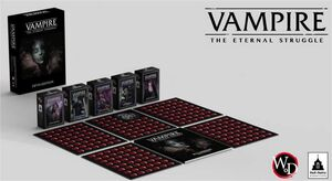 VAMPIRE THE ETERNAL STRUGGLE FIFTH EDITION - CASTELLANO
