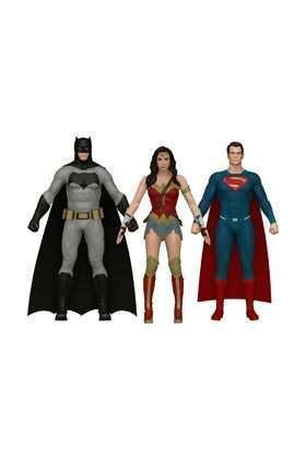 BATMAN VS SUPERMAN PACK 3 FIGURAS FLEXIBLES UNIVERSO DC