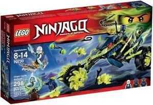 LEGO NINJAGO EMBOSCADA EN LA MOTO ENCADENADA