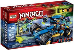 LEGO NINJAGO JAY WALKER ONE