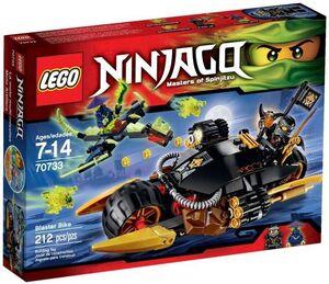 LEGO NINJAGO MOTO ARTILLERA