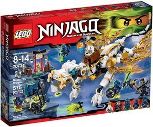 LEGO NINJAGO DRAGON DEL MAESTRO WU