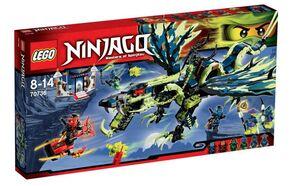 LEGO NINJAGO EL ATAQUE DEL DRAGON DE MORRO