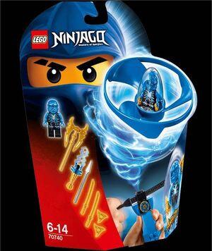 LEGO NINJAGO JAY AIRJITZU FLYER