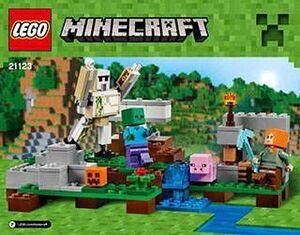 LEGO MINECRAFT EL GOLEM DE HIERRO