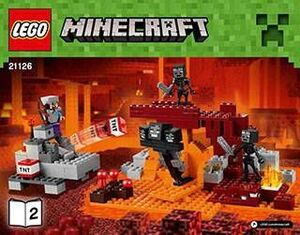 LEGO MINECRAFT EL WITHER