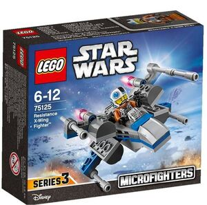 LEGO STAR WARS EPISODIO VII MICROFIGHTERS RESISTANCE X-WING FIGHTER