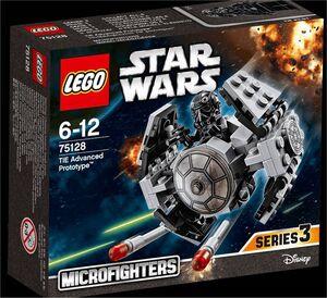 LEGO STAR WARS EPISODIO VII MICROFIGHTERS TIE ADVANCED PROTOTYPE