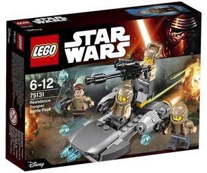 LEGO STAR WARS EPISODIO VII PACK DE COMBATE DE LA RESISTENCIA