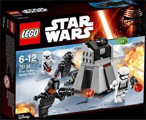 LEGO STAR WARS EPISODIO VII PACK DE COMBATE DE LA PRIMERA ORDEN