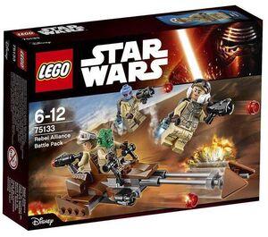 LEGO STAR WARS EPISODIO VII PACK DE COMBATE REBELDE