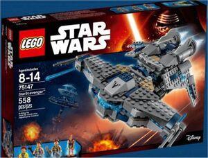LEGO STAR WARS EPISODIO VII CARROÑERO ESTELAR
