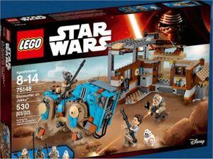 LEGO STAR WARS EPISODIO VII ENCUENTRO EN JAKKU