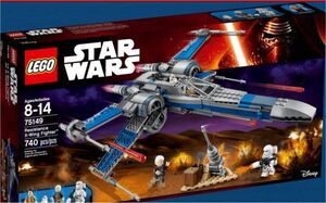LEGO STAR WARS EPISODIO VII RESISTANCE X-WING FIGHTER