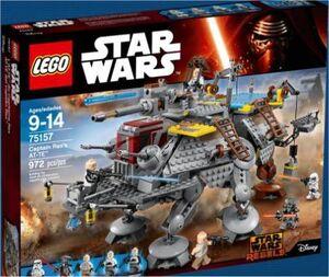LEGO STAR WARS REBELS AT-TE DEL CAPITAN REX