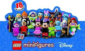 LEGO DISNEY SOBRE MINIFIGURA