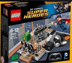 LEGO SUPER HEROES DC CHOQUE DE HEROES