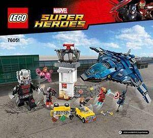 LEGO SUPER HEROES MARVEL - BATALLA DE LOS SUPERHEROES EN EL AEROPUERTO