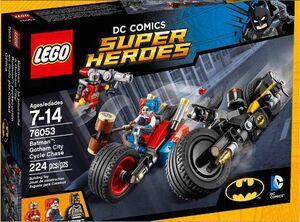LEGO SUPER HEROES BATMAN: PERSECUCION EN MOTO POR GOTHAM CITY