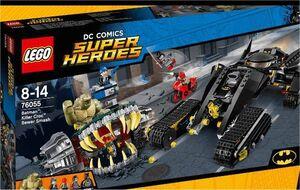 LEGO SUPER HEROES DC GOLPE EN LAS ALCANTARILLAS DE KILLER CROC