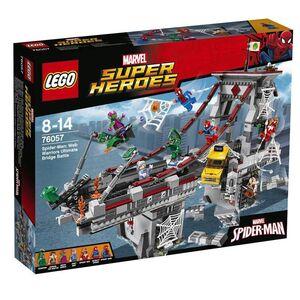 LEGO SUPER HEROES MARVEL SPIDERMAN COMBATE DEFINITIVO ENTRE GUERREROS ARACN