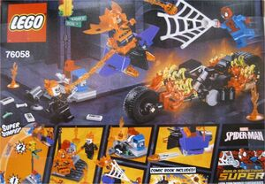 LEGO SUPER HEROES MARVEL - SPIDERMAN: ALIANZA CON EL MOTORISTA FANTASMA