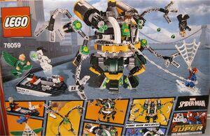 LEGO SUPER HEROES MARVEL SPIDERMAN TRAMPA TENTACULOSA DE DOC OCK