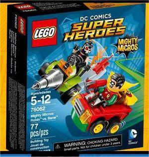 LEGO SUPER HEROES DC MIGHTY MICROS ROBIN VS BANE