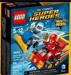 LEGO SUPER HEROES DC MIGHTY MICROS FLASH VS CAPITAN FRIO