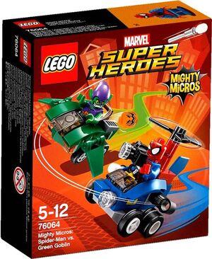 LEGO SUPER HEROES MARVEL MIGHTY MICROS SPIDERMAN VS DUENDE VERDE