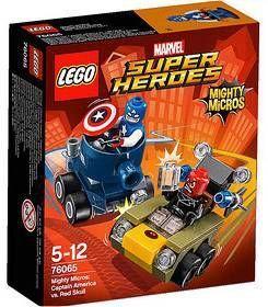 LEGO SUPER HEROES MARVEL MIGHTY MICROS CAPITAN AMERICA VS CRANEO ROJO