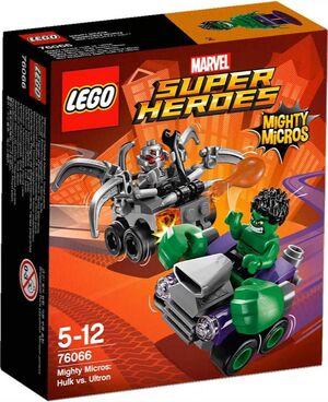 LEGO SUPER HEROES MARVEL MIGHTY MICROS HULK VS ULTRON