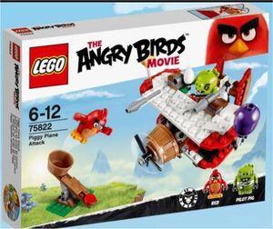 LEGO ANGRY BIRDS ATAQUE EN EL AVION DE LOS CERDOS