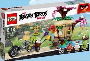 LEGO ANGRY BIRDS ASALTO A LA ISLA DE LOS PAJAROS
