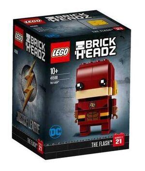 LEGO BRICKHEADZ LIGA DE LA JUSTICIA. FLASH DC COMICS