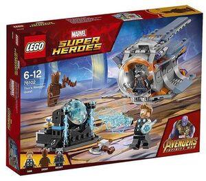 LEGO SUPER HEROES MARVEL - LOS VENGADORES: AVENTURA TRAS EL ARMA DE THOR