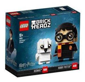 LEGO BRICKHEADZ HARRY POTTER. HARRY POTTER & HEDWIG