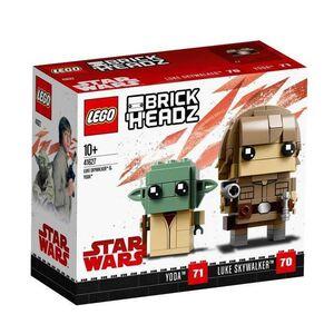 LEGO BRICKHEADZ STAR WARS LUKE SKYWALKER Y YODA