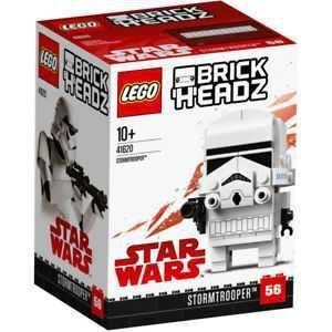 LEGO BRICKHEADZ STAR WARS. STORMTROOPER SOLDADO DE ASALTO