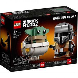 LEGO STAR WARS EL MANDALORIANO Y BABY JODA
