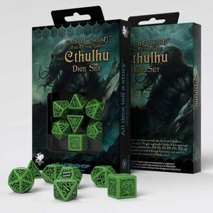 DADOS Q-WORKSHOP CALL OF CTHULHU THE OUTER GODS CTHULHU